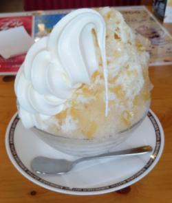 かき氷 コメダ珈琲